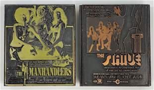 Drama Movies Vintage Printing Blocks