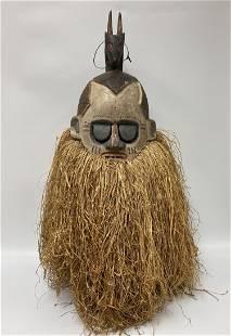 African Suku Helmet Mask