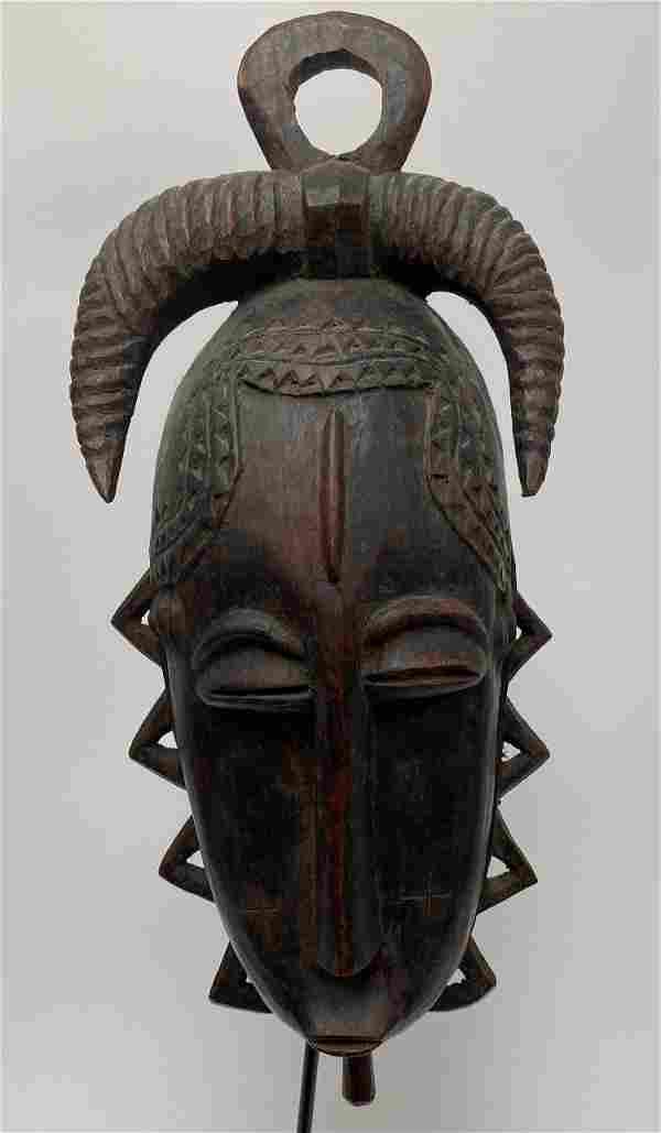 African Yaure Mask