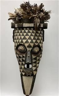 African BWA Bird Mask