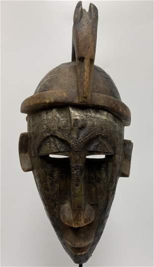 African Bambara Mali Mask