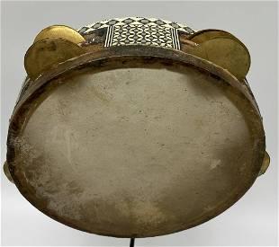 Vintage African Tambourine