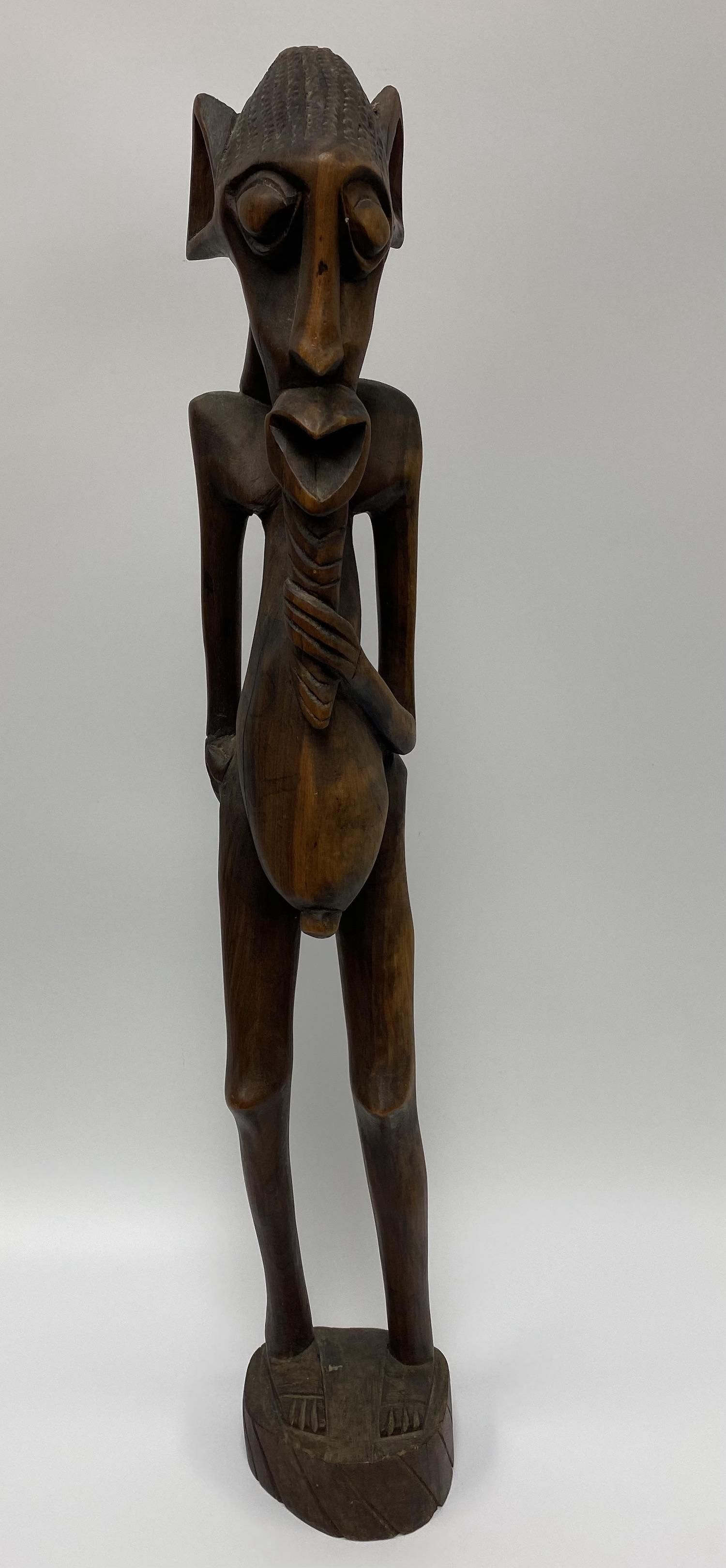 African Wooden Carved Sculpture