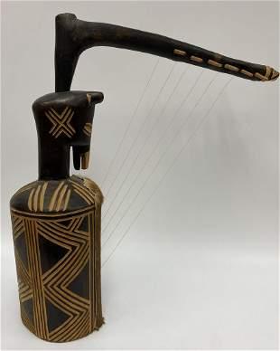 African Harp Zig-Zag Pattern