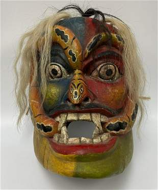 Mexican Serpent Mask