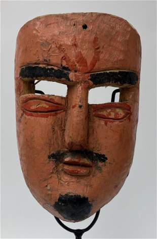 Mexican Hand Painted Drama Mask