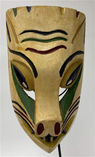 Mexican Coyote Festival Mask