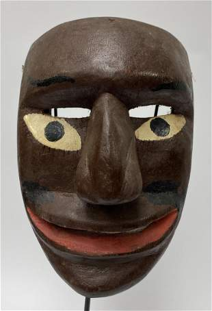 Vintage Mexican Chilolo Mask