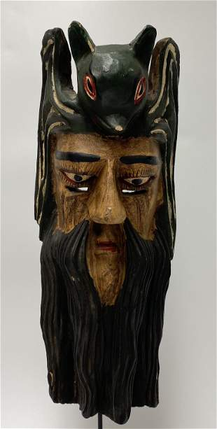 Lord of the Bat Festival Mask