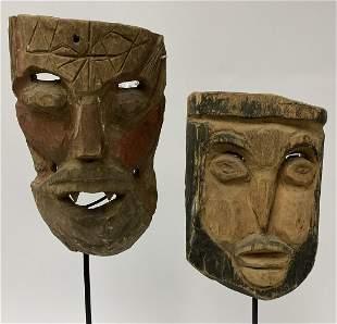 Pair Mexican Conquistador Mask