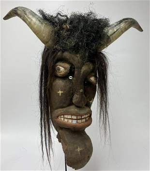 Large Mexican Mask