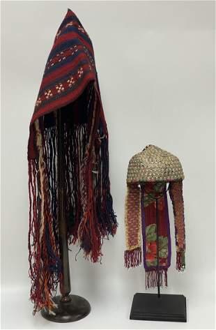 Vintage Central Asia Uzbekistan Hats