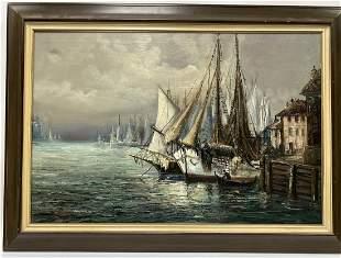George Deaca Oil Painting