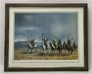 H Wackermann Dakota Territory Signed & Numbered Print