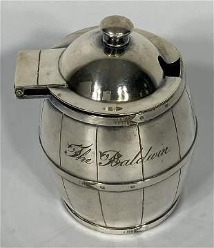Tiffany & Company Sugar Barrel