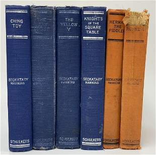 Rare Seckatary Hawkins Books