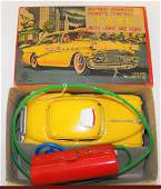 Linemar Battery Operated Toy Taxi Car MIB