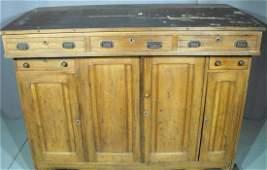 Large Antique Walnut RR Railroad Desk
