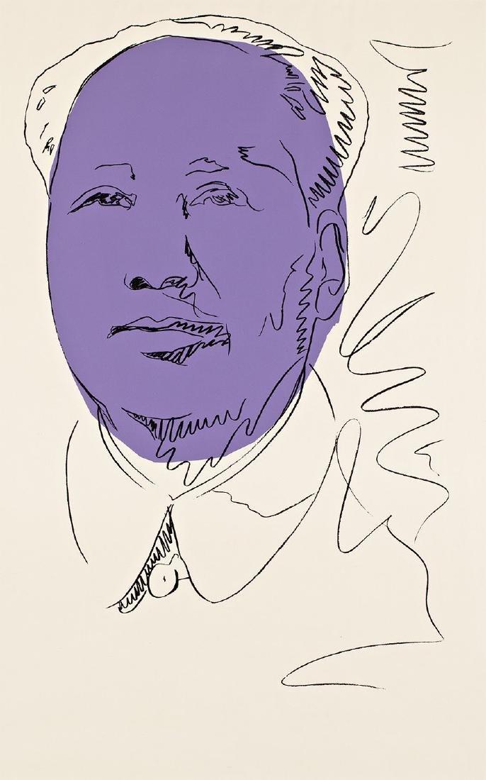 ANDY WARHOL Mao Wallpaper