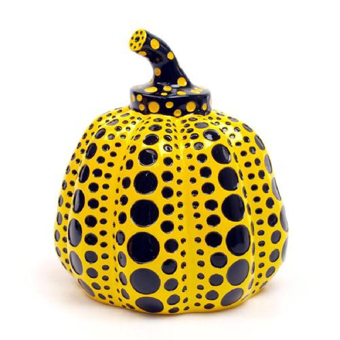 YAYOI KUSAMA Mini Pumpkin (Yellow)