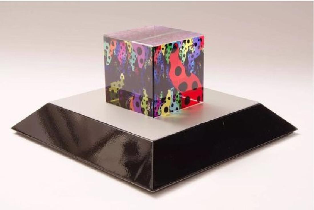YAYOI KUSAMA Love Is Calling Cube