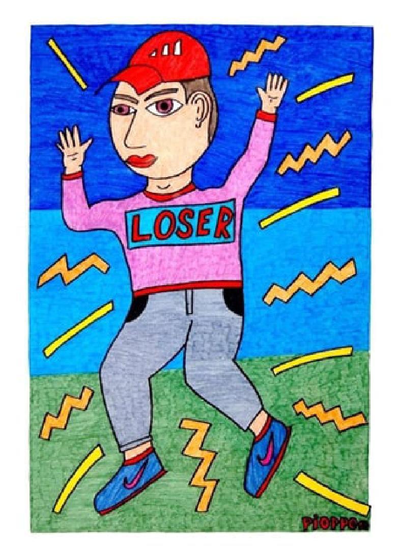 ANGELO PIOPPO Loser, 2017