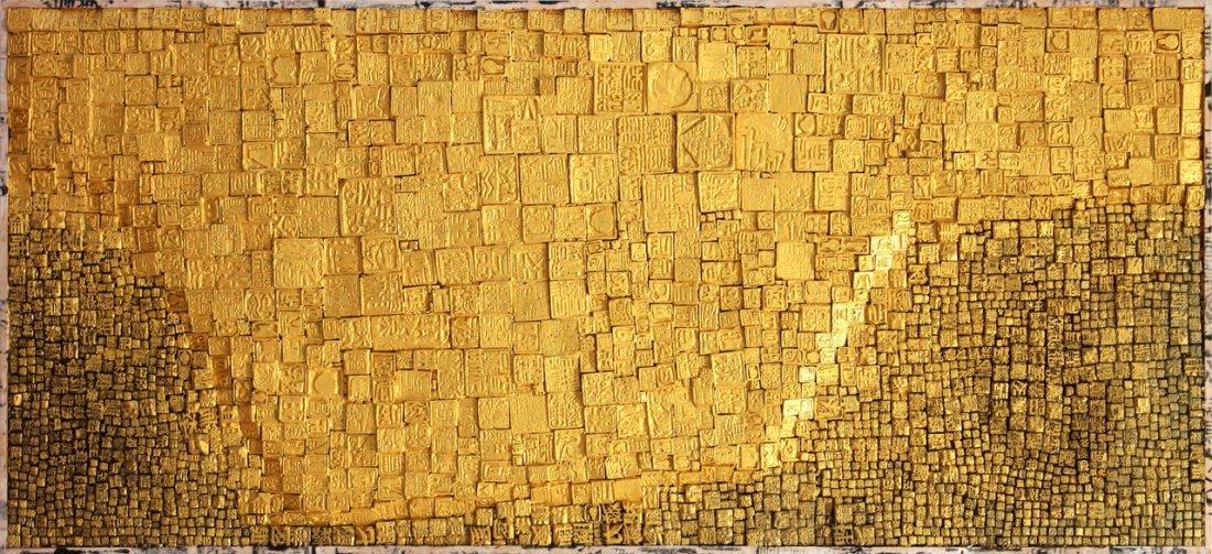 LEE KWAN WOO Condensation (Thin Gold)