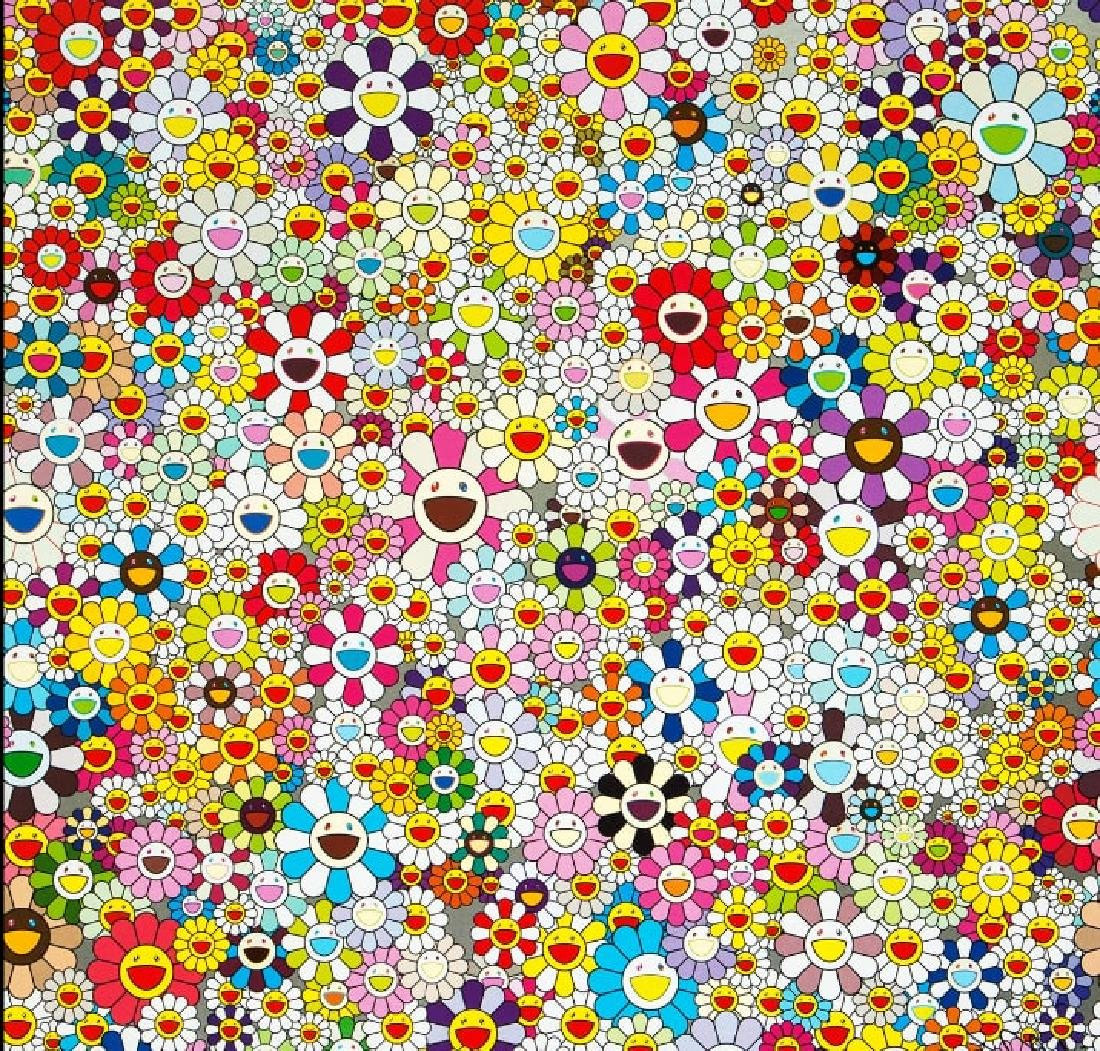 TAKASHI MURAKAMI  Flowers Blooming In The World And The