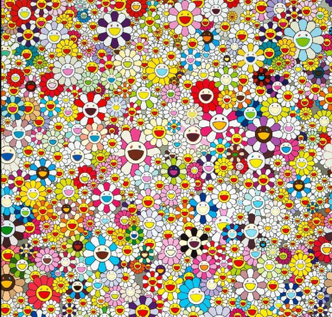 TAKASHI MURAKAMI  Flowers Blooming In The World And The