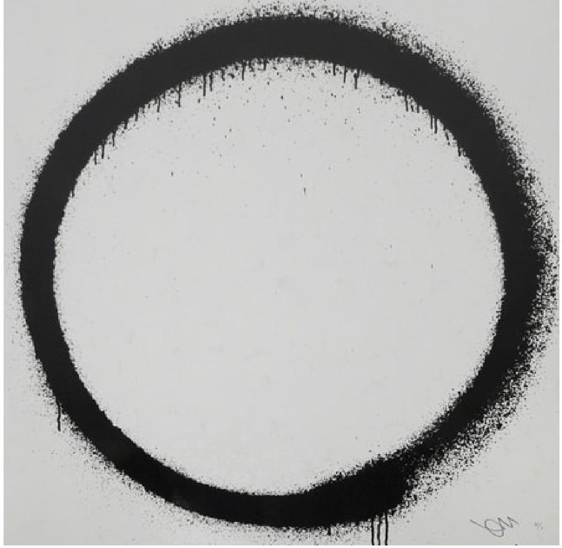 TAKASHI MURAKAMI  Enso : Tranquility