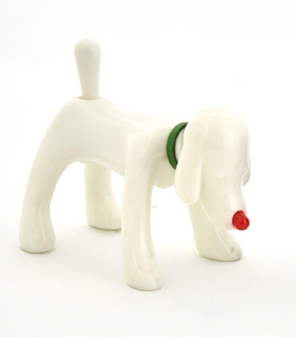 YOSHITOMO NARA Shinning Doggy White