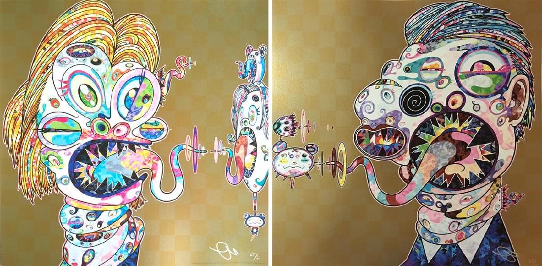 TAKASHI MURAKAMI  Homage to Francis Bacon (Study for