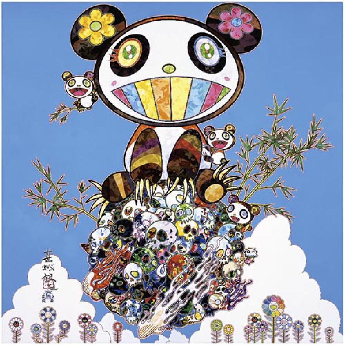 TAKASHI MURAKAMI  Panda Family Happiness