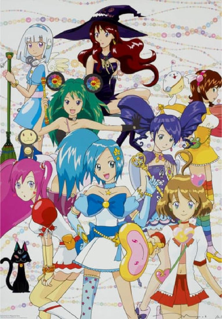 TAKASHI MURAKAMI  Majokko (Magical Princess) a la Mode