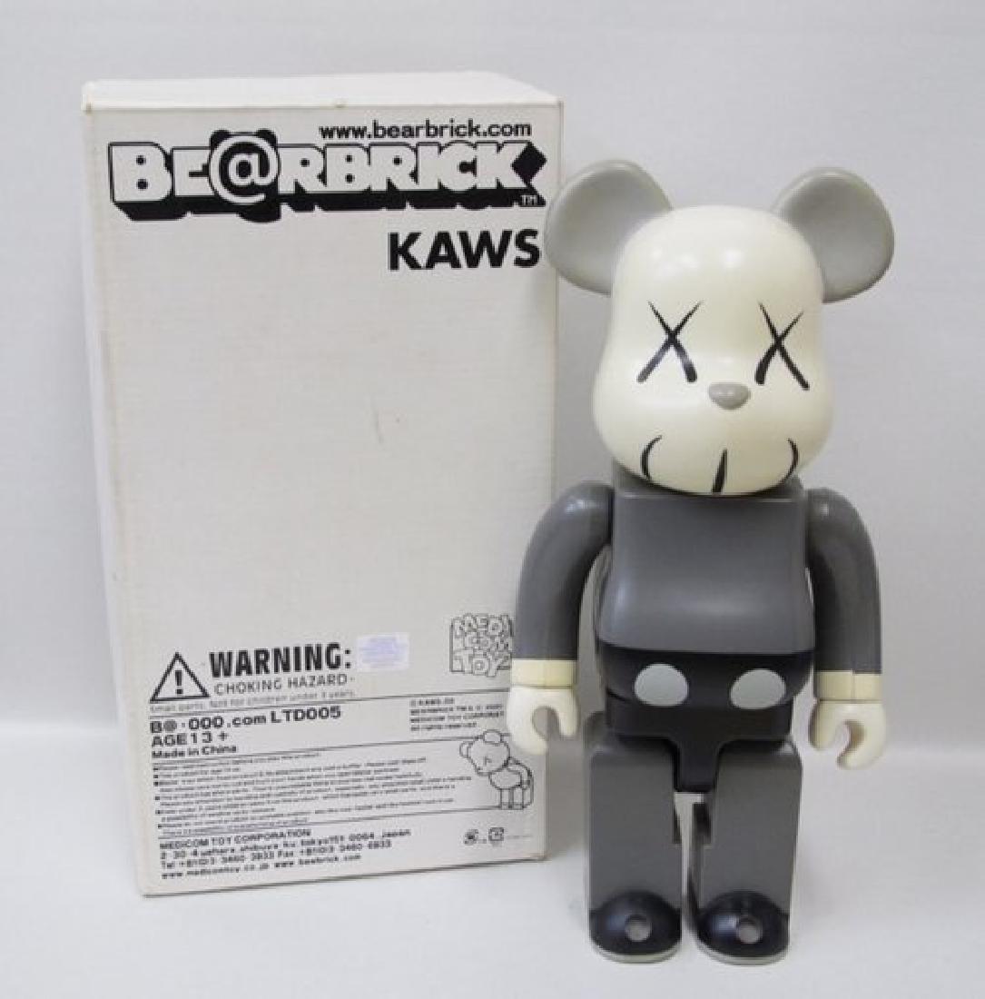BE@RBRICK Kaws Mono Gray 400%