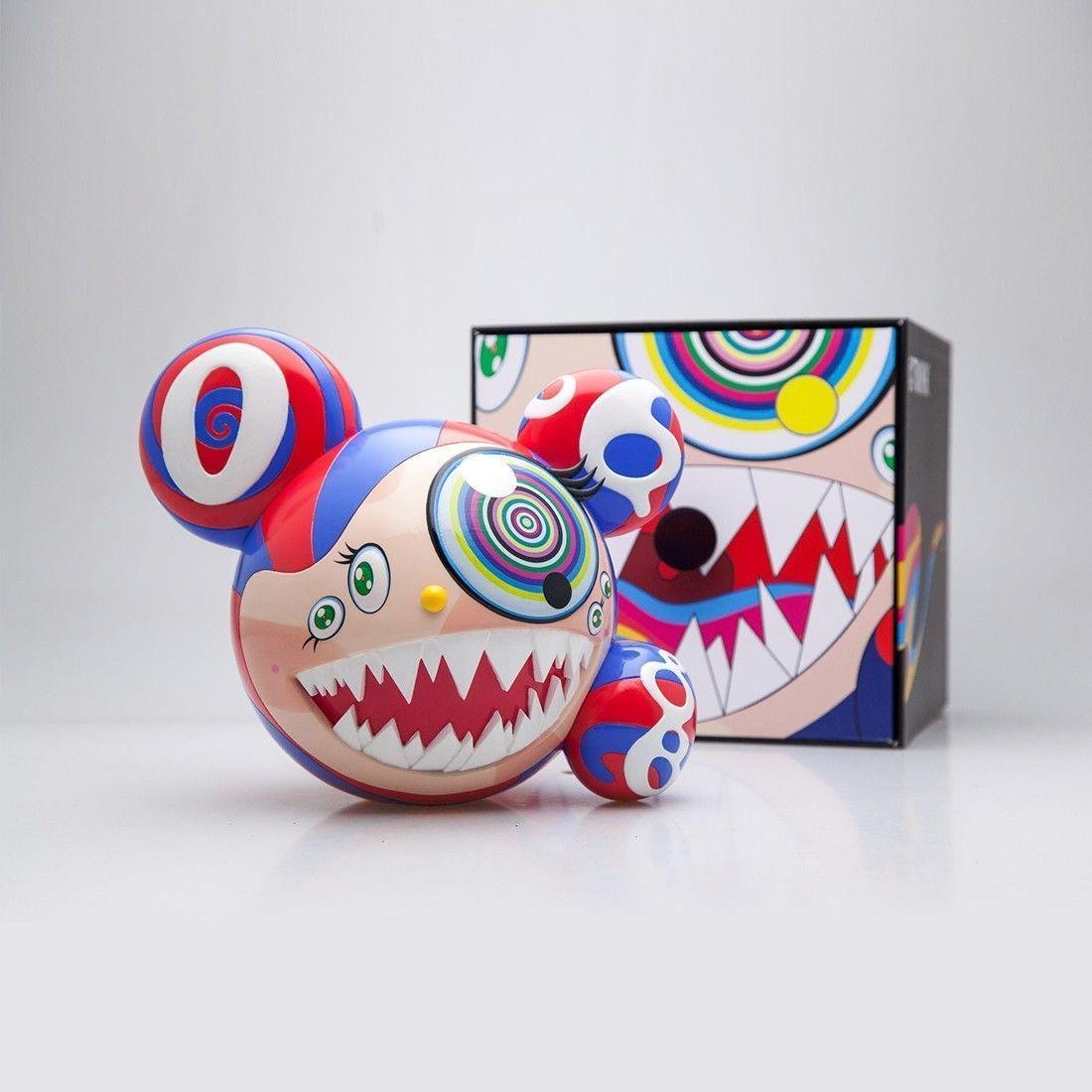 TAKASHI MURAKAMI  Mr Dob Scupture (Blue)