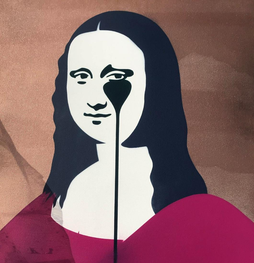PURE EVIL  Mona Lisa, Original