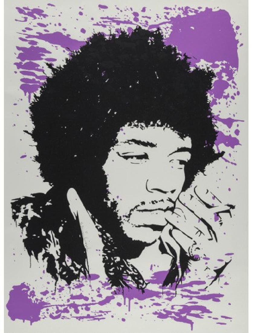BRAINWASH Jimmy Hendrix Purple Haze