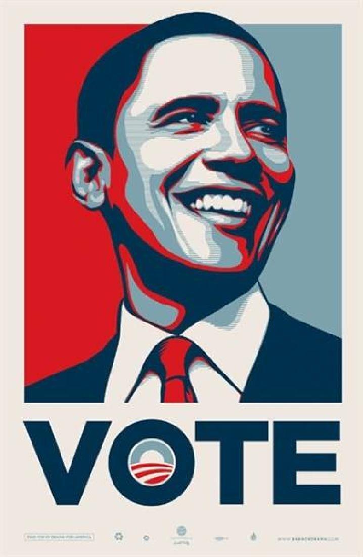 SHEPARD FAIREY Vote Obama