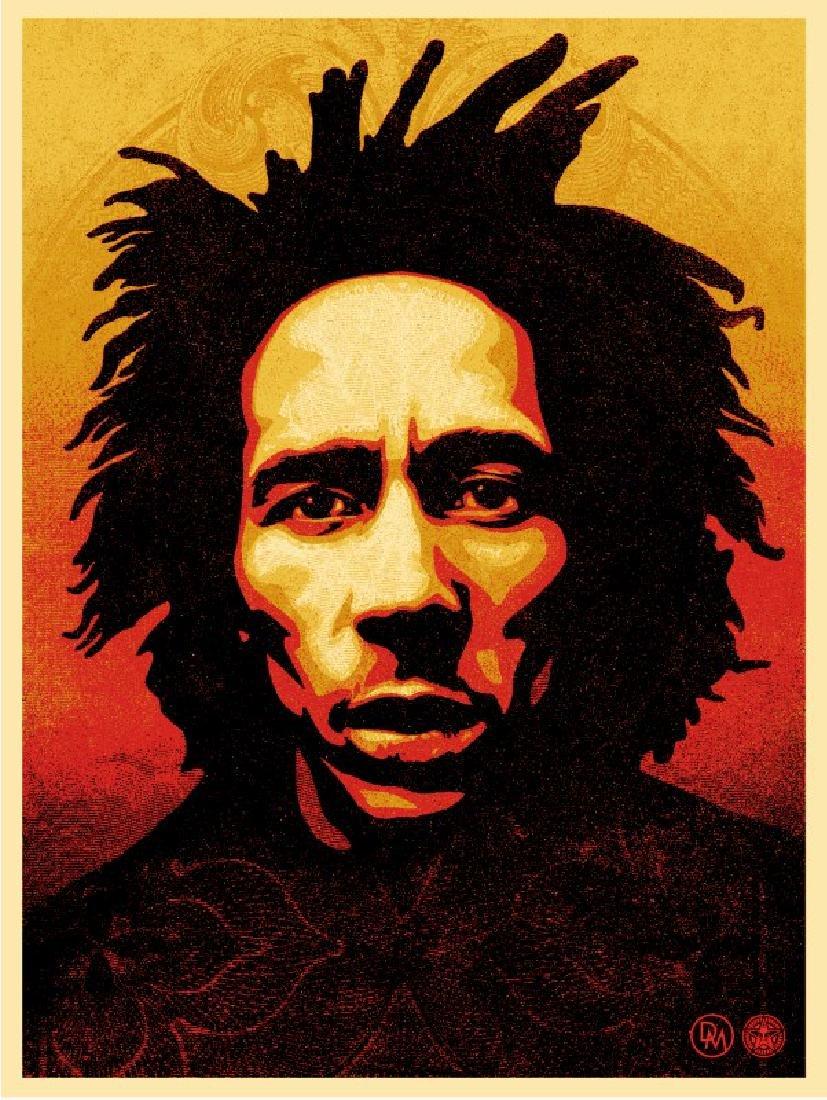 SHEPARD FAIREY Bob Marley
