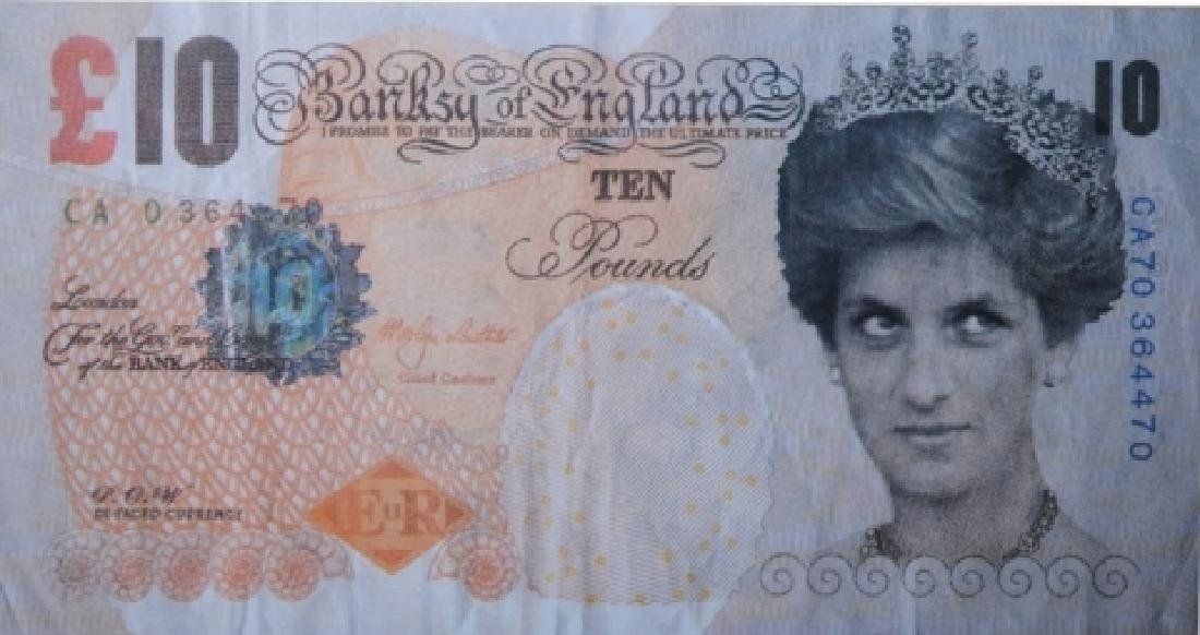 BANKSY Difaced Tenner