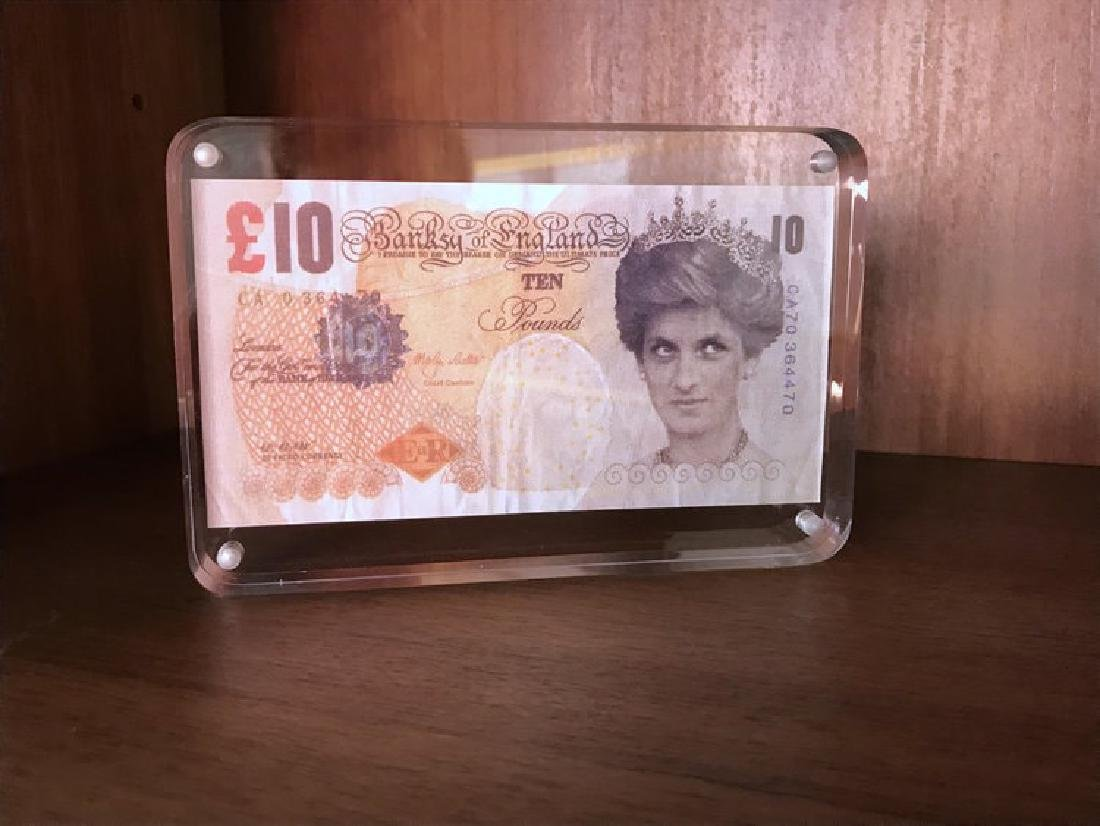 BANKSY Difaced Tenner - 3