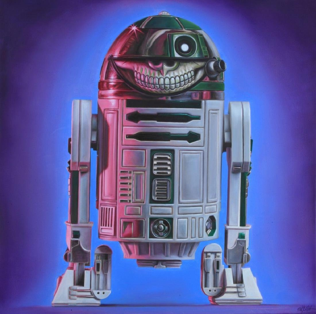 RON ENGLISH R2D2 Grin