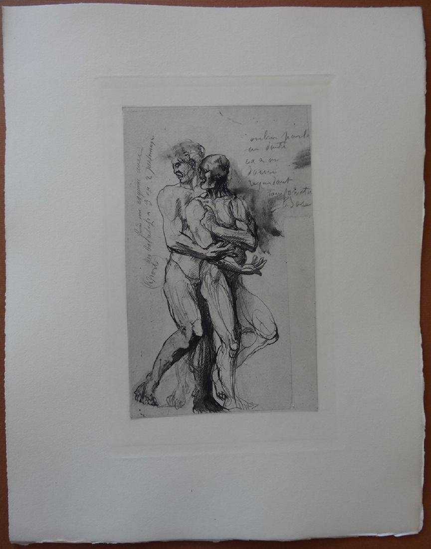 Study for Dante, 1897, engraving - Auguste Rodin - 3