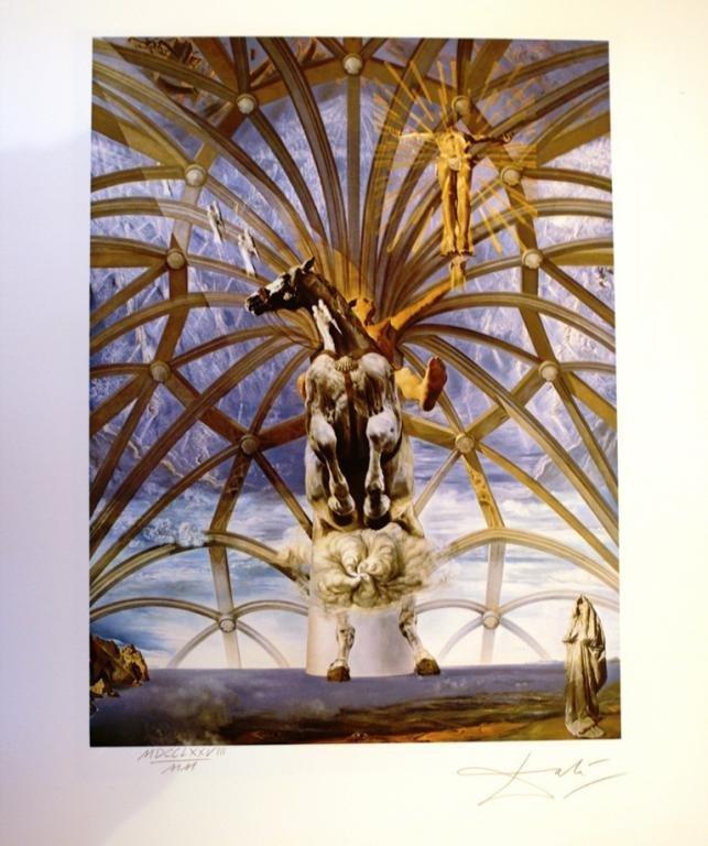 Santiago El Grande, 1988, Lithograph - Salvador Dali