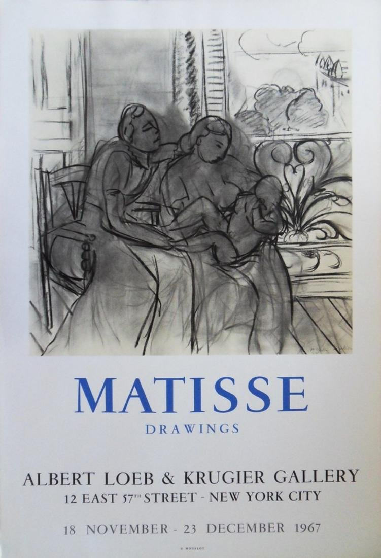 Lithograph Poster: Matisse - Drawings, 1967 - Henri