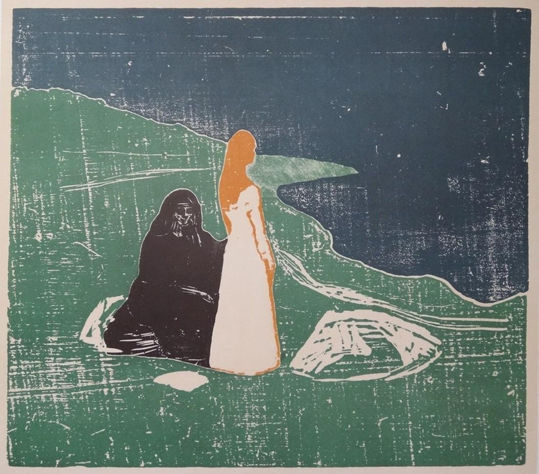 Youth and old age, original lithographic poster, 1969 -