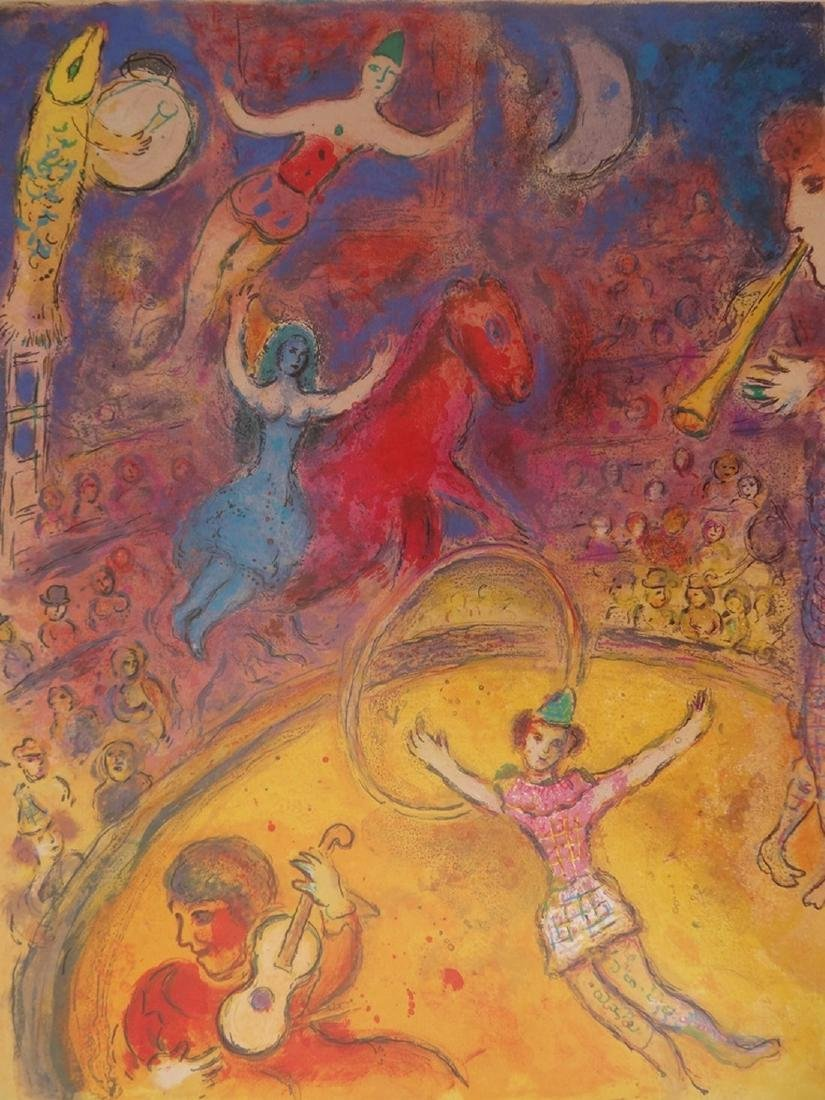 The Circus - Original Poster 1982 - Marc Chagall