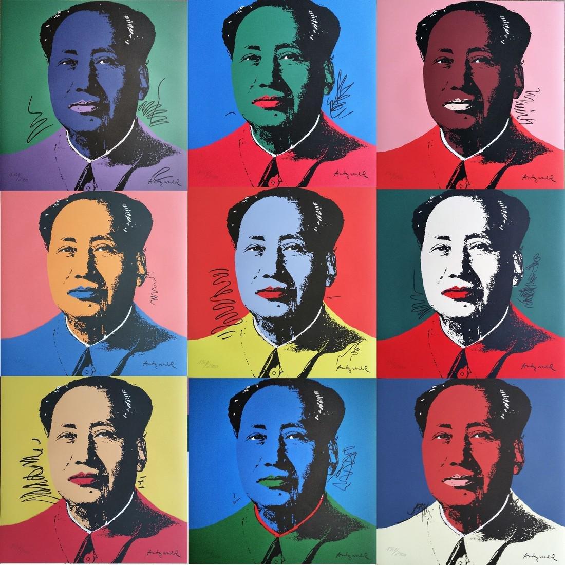 Mao Series (1967), Granolithograph - Andy Warhol