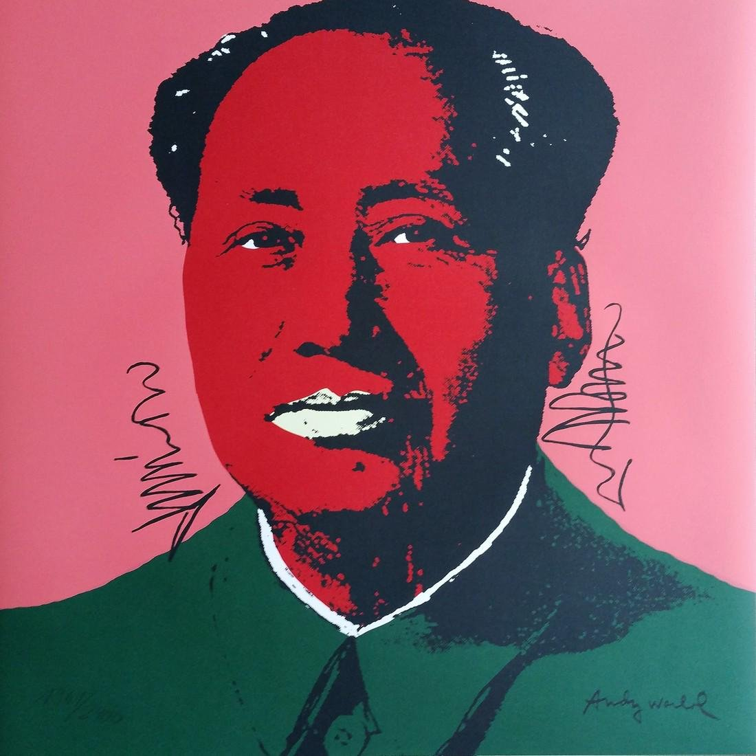 Mao (1967), Granolithograph - Andy Warhol